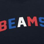 Мужская толстовка Champion Reverse Weave x Beams Crew Sweat Navy фото- 2