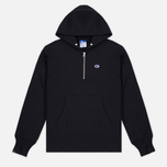 Мужская толстовка Champion Reverse Weave x Beams Half Zip Hoody Black фото- 0