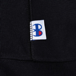 Мужская толстовка Champion Reverse Weave x Beams Half Zip Hoody Black фото- 4
