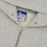 Мужская толстовка Champion Reverse Weave x Beams Half Zip Hoody Grey Marl фото- 1