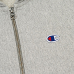 Мужская толстовка Champion Reverse Weave x Beams Half Zip Hoody Grey Marl фото- 2