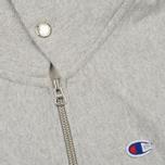 Мужская толстовка Champion Reverse Weave x Beams Half Zip Hoody Grey Marl фото- 3