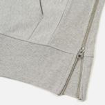 Мужская толстовка Champion Reverse Weave x Beams Half Zip Hoody Grey Marl фото- 6