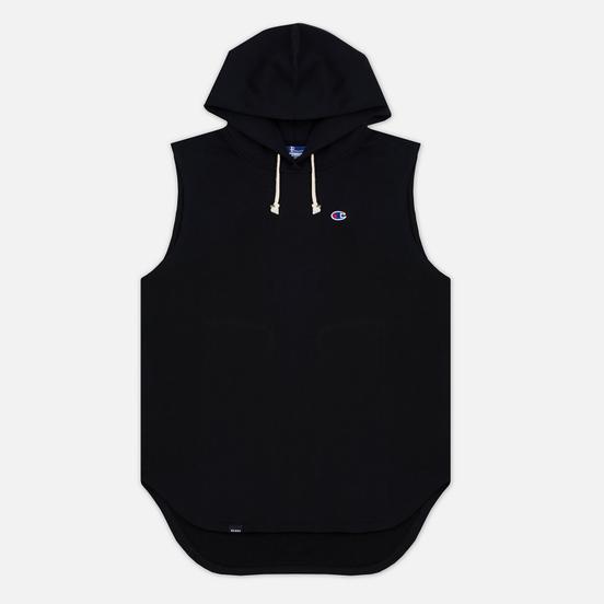 Мужская толстовка Champion Reverse Weave x Beams Hooded Sleeveless Black