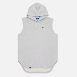 Мужская толстовка Champion Reverse Weave x Beams Hooded Sleeveless Grey Marl фото- 0