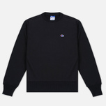 Мужская толстовка Champion Reverse Weave x Beams Zip Crew Black фото- 0
