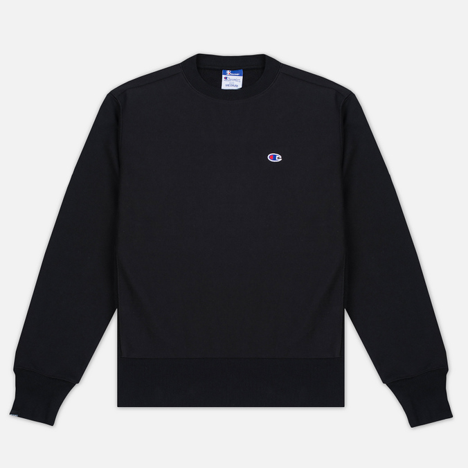 Мужская толстовка Champion Reverse Weave x Beams Zip Crew Black