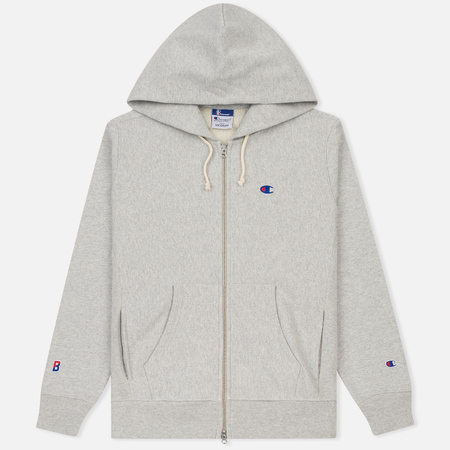 Мужская толстовка Champion Reverse Weave x Beams Zip Hoody Heather Grey