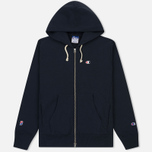 Мужская толстовка Champion Reverse Weave x Beams Zip Hoody Navy фото- 0