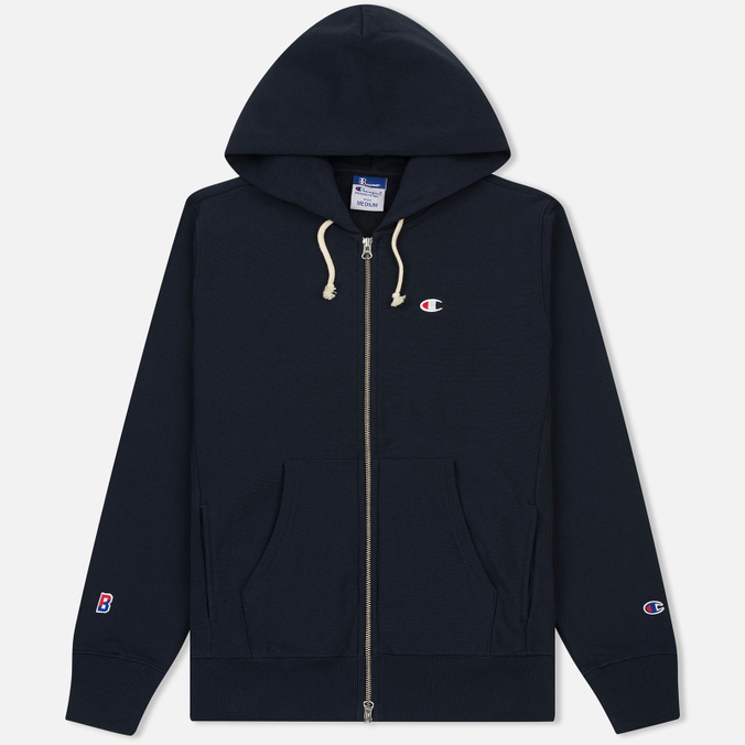 Мужская толстовка Champion Reverse Weave x Beams Zip Hoody Navy