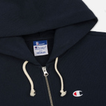 Мужская толстовка Champion Reverse Weave x Beams Zip Hoody Navy фото- 1