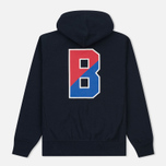 Мужская толстовка Champion Reverse Weave x Beams Zip Hoody Navy фото- 6