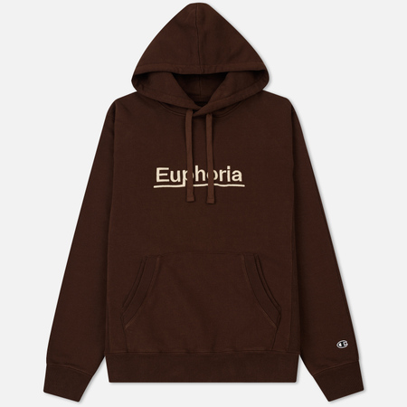 Мужская толстовка Champion Reverse Weave x Wood Wood Euphoria Hoody Brown