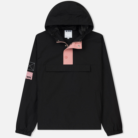 Мужская куртка анорак Champion Reverse Weave x Wood Wood Niko Hooded Black