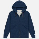 Мужская толстовка Champion x Todd Snyder Classic Full Zip Hoodie Indigo Heather фото- 0