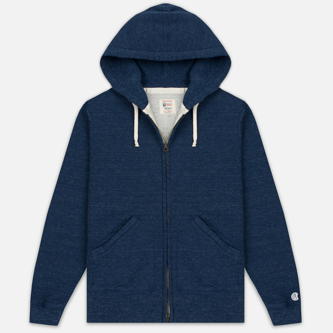 Мужская толстовка Champion x Todd Snyder Classic Full Zip Hoodie Indigo Heather