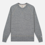 Мужская толстовка Champion x Todd Snyder Classic Pocket Crewneck Grey Heather фото- 0