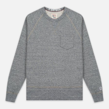 Мужская толстовка Champion x Todd Snyder Classic Pocket Crewneck Grey Heather