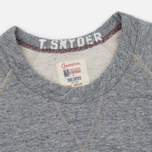 Мужская толстовка Champion x Todd Snyder Classic Pocket Crewneck Grey Heather фото- 1