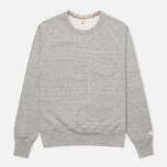 Champion x Todd Snyder Fleece Men's Sweatshirt Grey Heather photo- 0