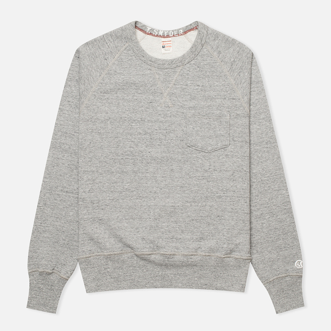 Champion x Todd Snyder Fleece Men's Sweatshirt Grey Heather