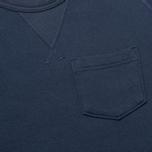 Мужская толстовка Champion x Todd Snyder Fleece Mast Blue фото- 2