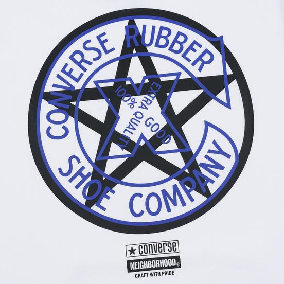 Мужская толстовка Converse x Neighborhood Hoodie White