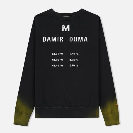 Мужская толстовка Damir Doma Wilho DD Black/Yellow