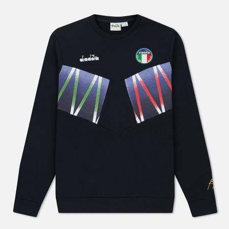 Мужская толстовка Diadora x Roberto Baggio Signature Blue Corsair