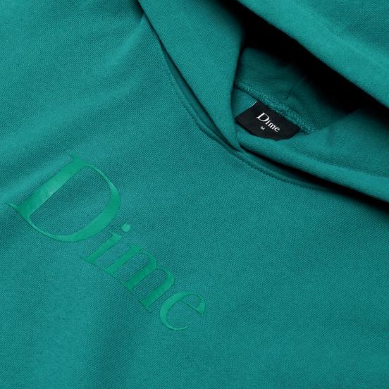 Мужская толстовка Dime Dime Classic Logo Hoodie Emerald