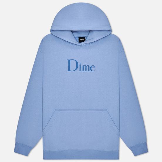 Мужская толстовка Dime Dime Classic Logo Hoodie Light Blue