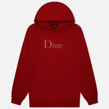 Мужская толстовка Dime Dime Classic Logo Hoodie Red фото- 0