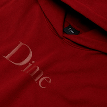 Мужская толстовка Dime Dime Classic Logo Hoodie Red фото- 1