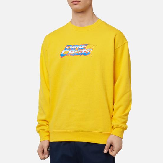 Мужская толстовка Dime Dime Crisis Crew Neck Yellow