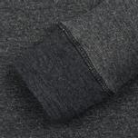 Мужская толстовка Dupe Casual Dupe Logo Print/Black Melange фото- 2