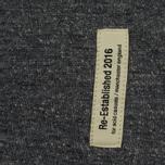 Мужская толстовка Dupe Casual Dupe Logo Print/Black Melange фото- 3