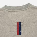 Мужская толстовка Dupe Casual Dupe Logo Print/Grey Melange фото- 4