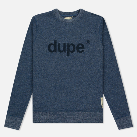 Мужская толстовка Dupe Casual Dupe Logo Print/Indigo