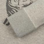 Мужская толстовка Dupe Casual Ultras Dupe Print/Grey Melange B фото- 3