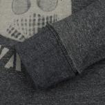 Мужская толстовка Dupe Casual Milo Walsh Print/Black Melange фото- 2