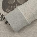 Мужская толстовка Dupe Casual Milo Walsh Print/Grey Melange фото- 3