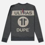 Мужская толстовка Dupe Casual Ultras Dupe 11 Print/Black Melange фото- 4