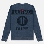 Мужская толстовка Dupe Casual Ultras Dupe 11 Print/Indigo фото- 3