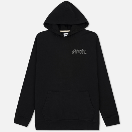 Мужская толстовка Edwin Best Or Nothing Hoodie Heavy Felpa Black