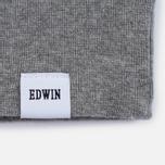 Мужская толстовка Edwin Classic Crew Felpa Americana Mid Grey Marl фото- 3