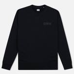 Edwin Classic Crew Logo Men's Sweatshirt Black photo- 0