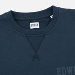 Мужская толстовка Edwin Classic Crew Logo Navy фото- 1