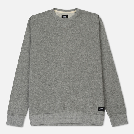 Мужская толстовка Edwin Classic Crew Mouline Grey Garment Washed