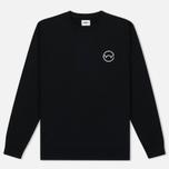 Мужская толстовка Edwin Classic Crew Sweat Logo 2 Black фото- 0