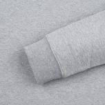Мужская толстовка Edwin Classic Logo Crew Grey Marl фото- 3